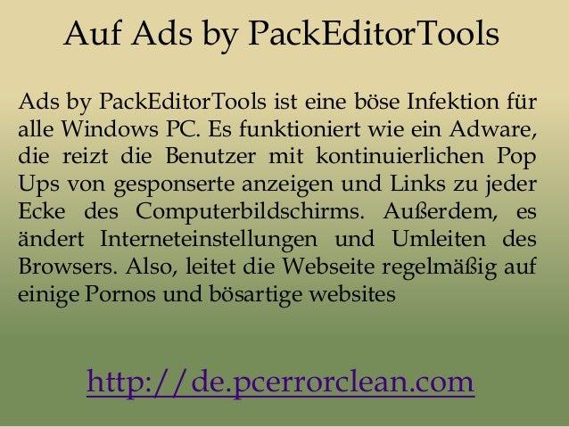 Auf Ads by PackEditorTools Ads by PackEditorTools ist eine böse Infektion für alle Windows PC. Es funktioniert wie ein Adw...