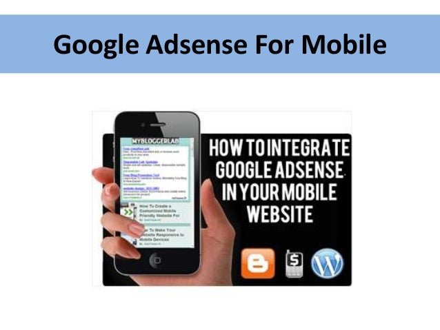 Google Adsense For Mobile