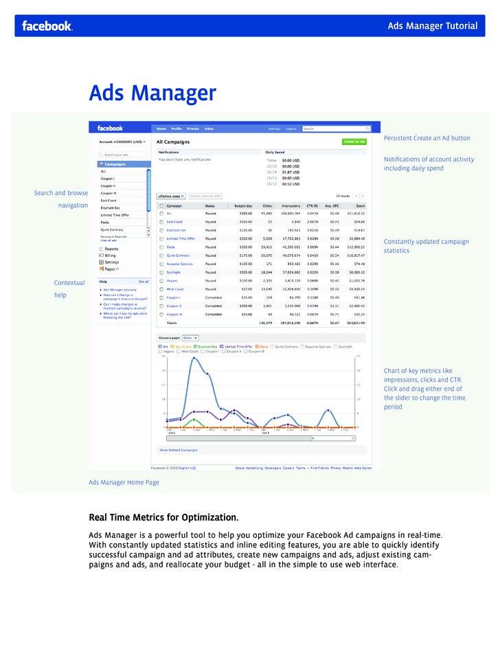 Facebook Ads Manager Tutorial
