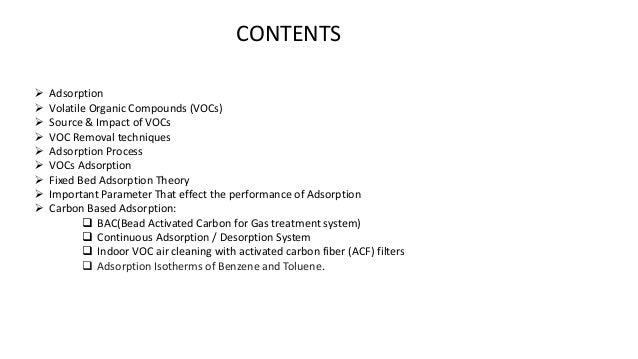 Definition of Volatile Organic Compounds (VOC) - US EPA