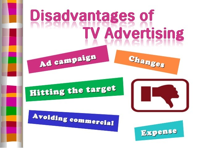 an introduction to the disadvantages of television Find out the negative effects of watching too much television that you should   we choose the easy way, but a serious disadvantage of doing so is that we also.