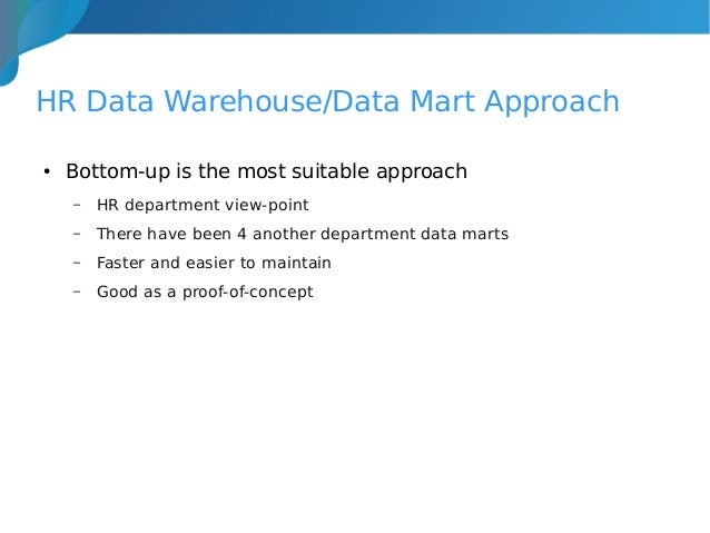 case study irs and datawarehousing Strategic alignment in data warehouses - two case studies this research investigates the role of strategic alignment in the success of data warehouse implementation.