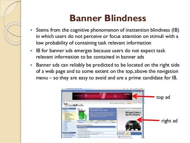 Study Summary: Banner blindness is real - Speeli Summary