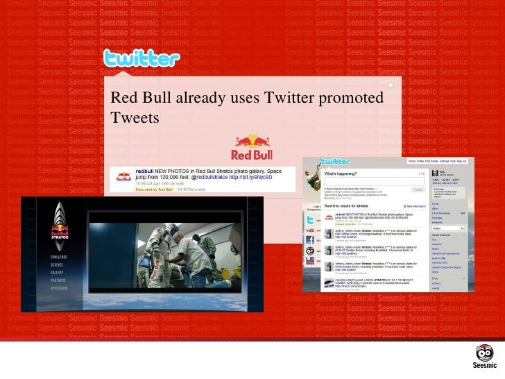 Red Bull already uses Twitter promoted Tweets