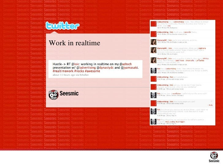 Work in realtime