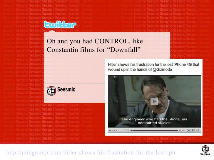"""Oh and you had CONTROL, like Constantin films for """"Downfall"""" http://mingramjr.com/hitler-shows-his-frustration-for-the-los..."""
