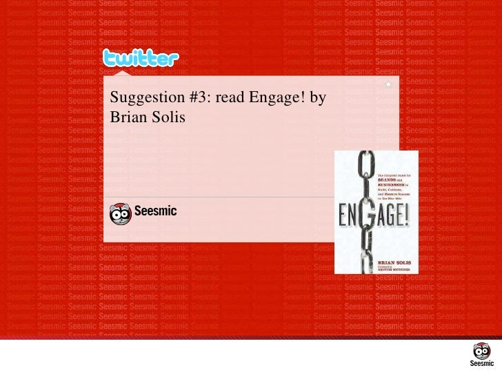 Suggestion #3: readEngage! by  Brian Solis