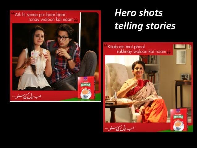 Hero  shots   telling  stories