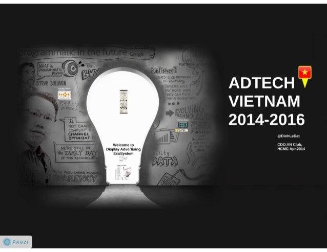 Tổng quan thị trường Ad Tech Việt Nam 2014-2016