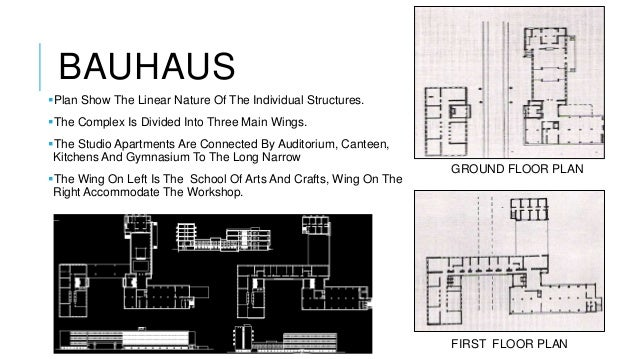 Ar walter gropius for 5 points of architecture