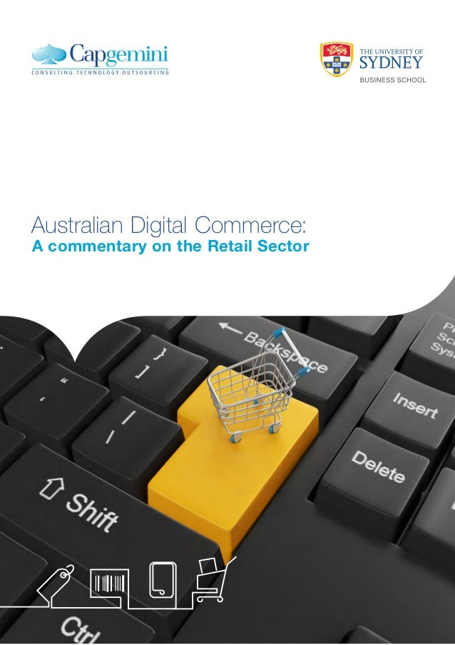 Australian Digital Commerce:  A commentary on the Retail Sector