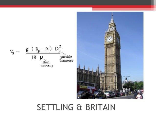 SETTLING & BRITAIN