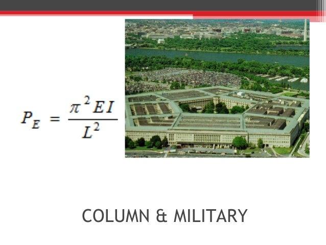 COLUMN & MILITARY