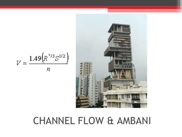 CHANNEL FLOW & AMBANI