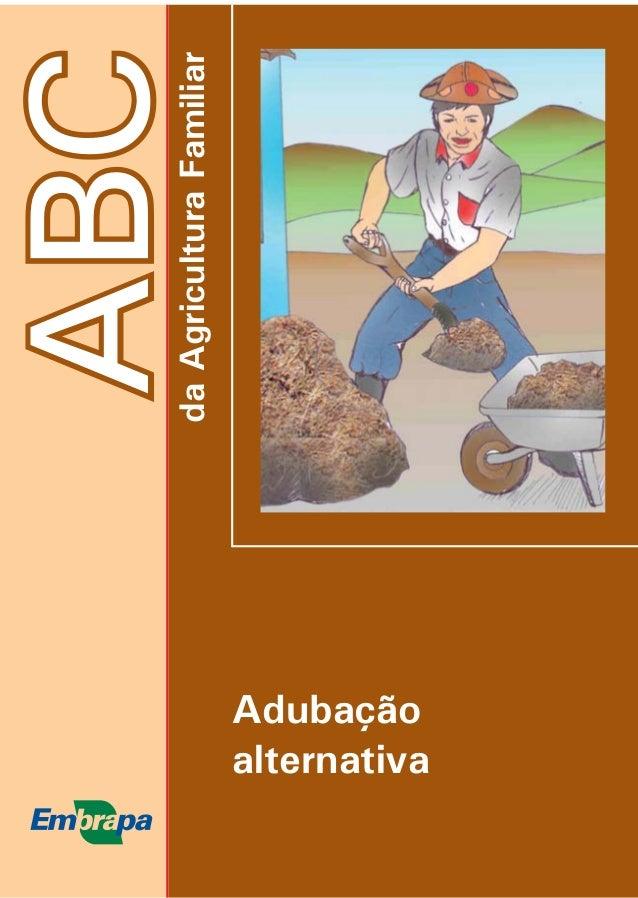 daAgriculturaFamiliar ABC Adubação alternativa