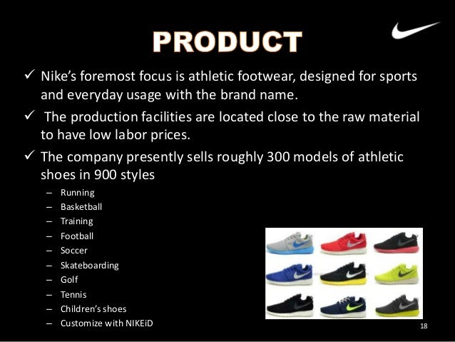 nike pricing objective Chapter 9: pricing policy v if demand is less elastic, the seller should aim for a higher incremental margin percentage, and not necessarily a higher.