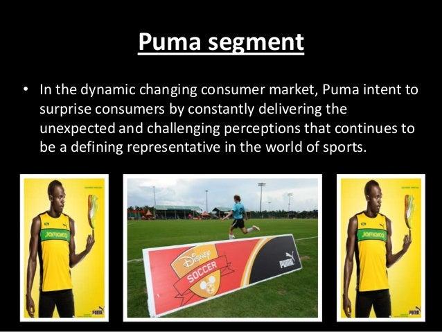 Market segmentation example for sports shoes