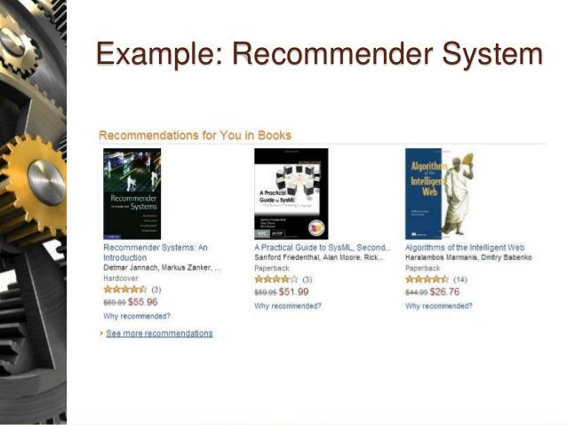 Example: Recommender System