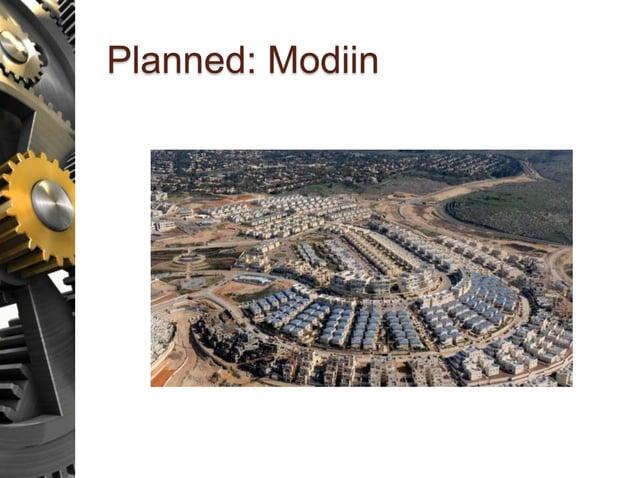 Planned: Modiin