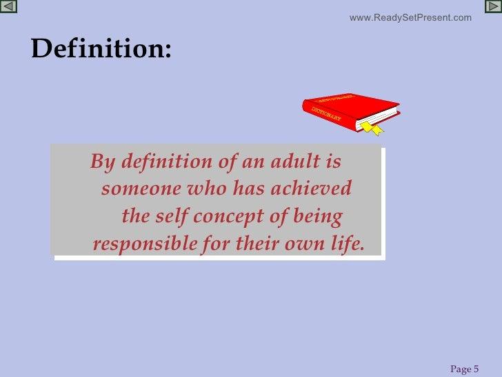 Define Adult Learner