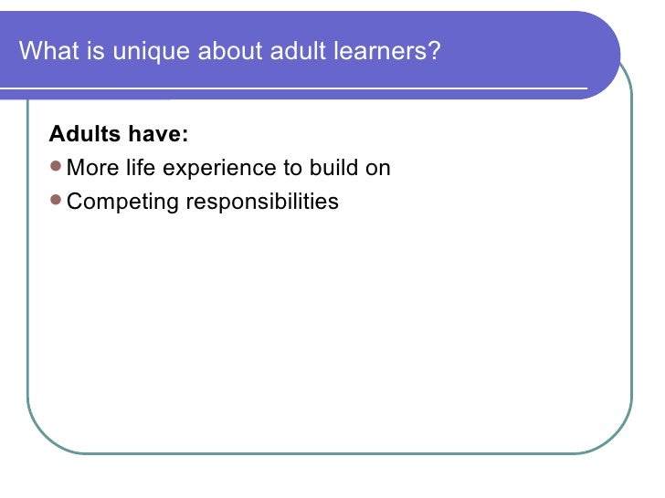 Adult learning styles converger something is
