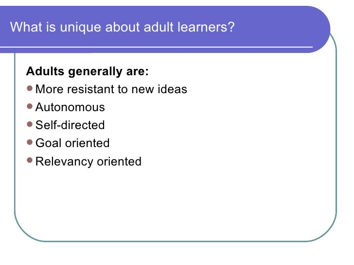 Thoughts on Learning Styles « Exploring Adult Education as ...