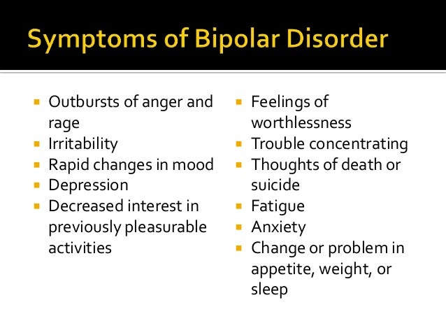 Adult bi-polar disorder