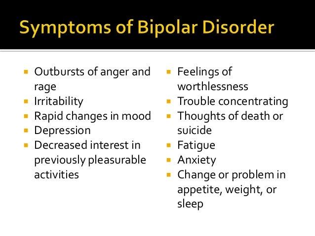 Adult bi-polar disorder