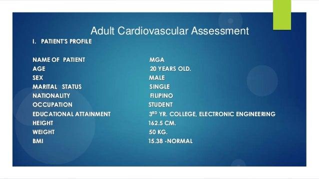 Adult cardiovascular assessment true copy