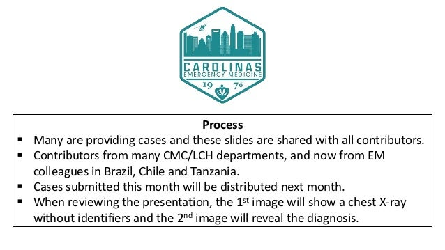 Drs. Lorenzen and Barlock's CMC X-Ray Mastery Project: May Cases Slide 3