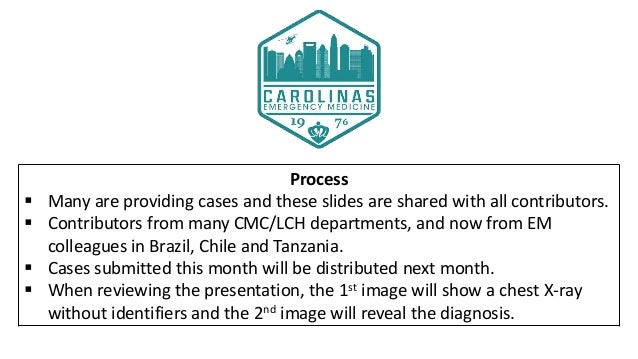 Drs. Milam and Thomas's CMC X-Ray Mastery Project: February Cases Slide 3