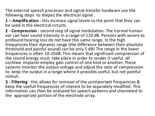 Speech Anatomy : • Spectral (pitch) information • Temporal (loudness ) information The speech signals have 2 main componen...