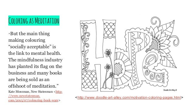 Mental Health Awareness Coloring Book Coloring Coloring Pages