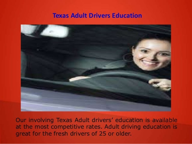 drivers education cds for adults