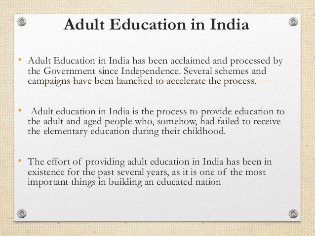 adult education adult education