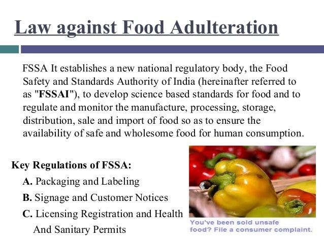 Brandwitz Final   Food Adulteration Branda essay on food adulteration and consumer awareness