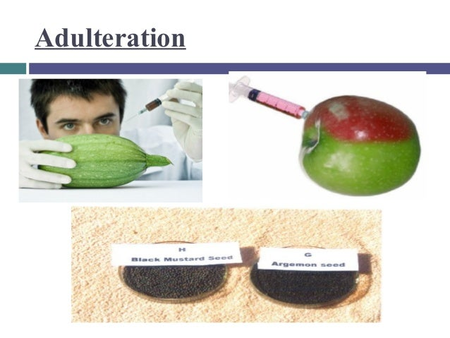 effects of adulterated drugs The federal food and drug administration prohibits transportation of adulterated foods, drugs, and cosmetics in interstate commerce, as provided under the food.