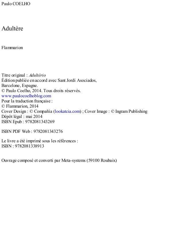 adultere de paulo coelho pdf