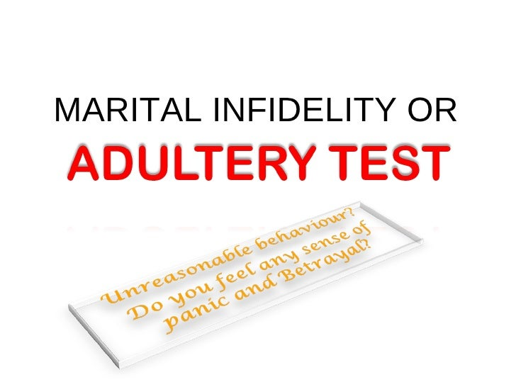 thesis infidelity adultery