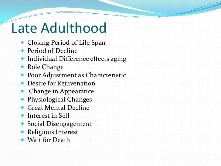 transition middle adulthood Physical changes in middle adulthood vision presbyopia lens loses its capacity to adjust to objects at varying distances problems reading small print midlife transition in which fertility declines in women, an end to reproductive capacity in men.