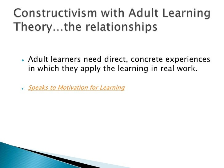 Learning Theories/Adult Learning Theories - Wikibooks ...