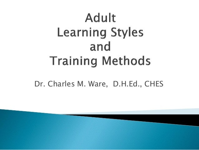 Adult dissertation learning style