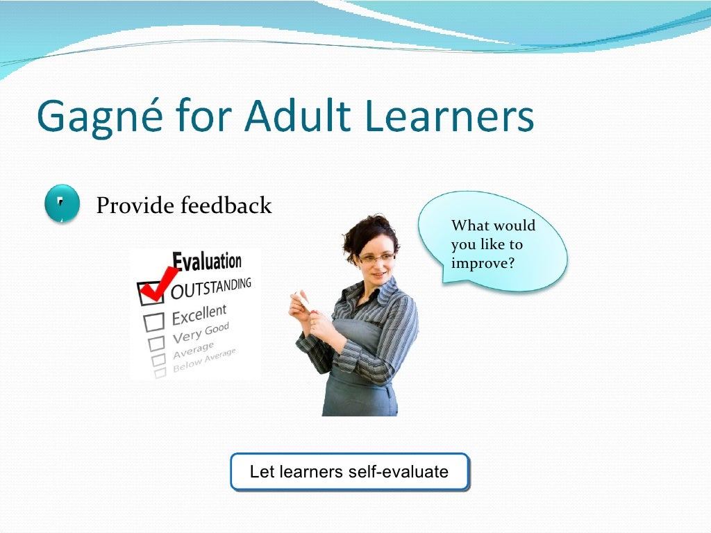 reflective practices and adult learning principles Processes, promote reflective learning, and identify strategies to  adult learning  principles diverse  guidance throughout the reflective process johns, 1996.