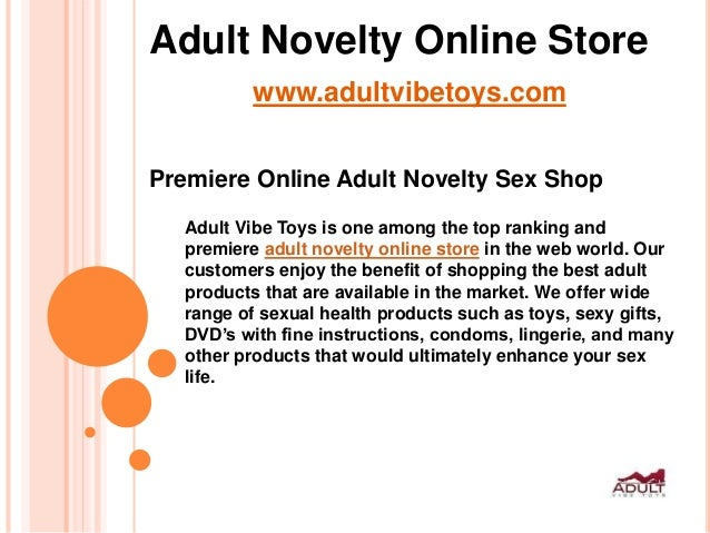 adult online stores