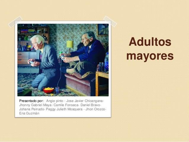 Adultos mayores trabajo for Asilo de ancianos pdf
