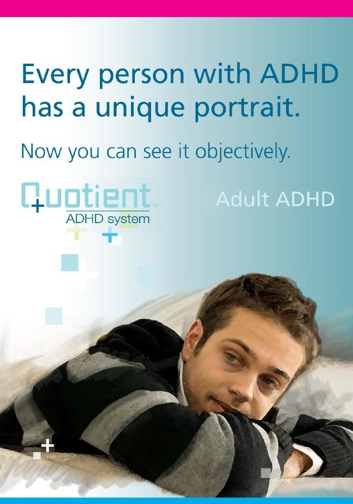 Patient Education Brochure: Adult ADHD