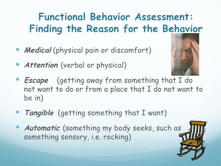 Functional Behavior Assessment: ...