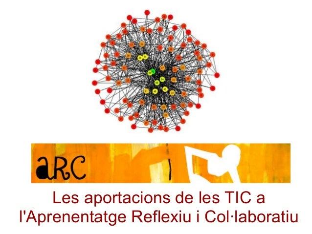 Les aportacions de les TIC a l'Aprenentatge Reflexiu i Col·laboratiu
