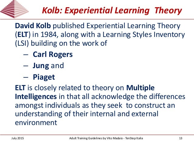 analyzing the differences in adult learning styles To make real differences in students' skill, it is necessary both to understand the nature of expert practice and to devise methods that are appropriate to learning that practice the design of educational programs is always guided by beliefs about how students learn in an academic discipline whether explicit or implicit, these.