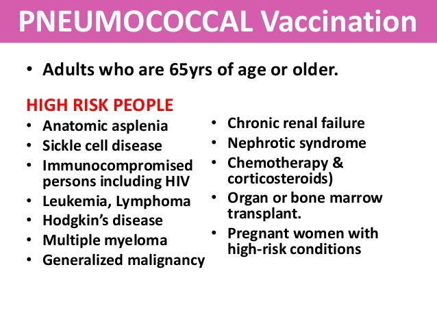 nt pneumococcal vaccination and revaccination guidelines
